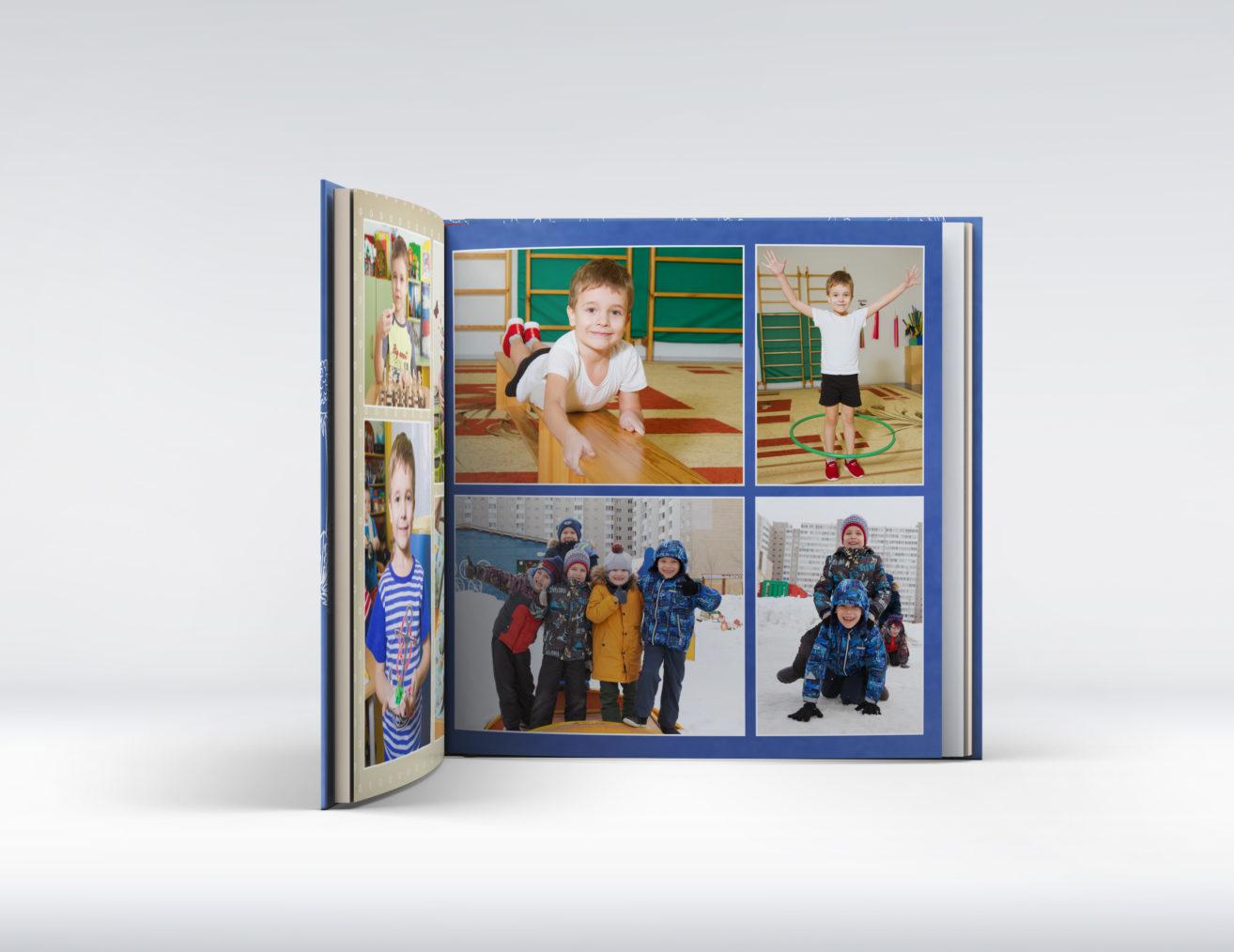 Выпускной альбом детского сада с рисунками